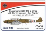 1-48-Messerschmitt-Bf-110C-6-with-MK-101-conversion-set-with-decals-Day-fighter