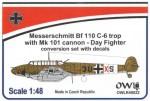 1-48-Messerschmitt-Bf-110C-6-with-MK-101-conversion-set-with-decals-Day-fighter