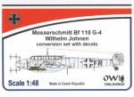 1-48-Messerschmitt-Bf-110G-4-R3-R8-W-Johnen-conversion-set-w-decal