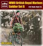 1-35-WWII-British-Royal-Marines-Soldier-Set-B
