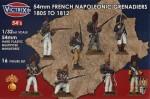 54mm-French-Napoleonic-Grenadiers-1807-1812