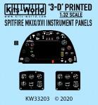 1-32-Supermarine-Spitfire-Mk-IX-Mk-XVI-3D-Full-colour-Instrument-Panel-