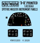 1-32-Supermarine-Spitfire-Mk-IX-Mk-XVI-3D-Full-colour-Instrument-Panel-