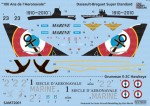 1-72-Aeronavale-100-ans-de-lAeronavale-Dassault-Etendard-Grumman-E-2C-Hawkeye