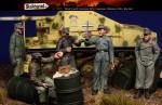 1-35-Brief-Lunch-German-AFV-Crewmen-Ukraine-1944-Big-Set