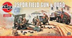 1-76-25pdr-Field-Gun-and-Quad-Tractor-Vintage-Classic-series
