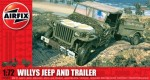 1-72-Willys-Jeep-and-trailer-WWII