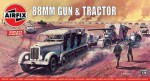 1-76-German-88mm-Gun-and-Tractor-Vintage-Classic-series-DUE-2019