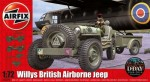 1-72-Willys-Jeep-Trailer-and-6-Pdr-Gun-New-Tooling