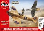 1-48-Supermarine-Spitfire-Mk-Vb-and-Messerschmitt-BF109E-Dogfight-Double