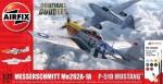 1-72-Messerschmitt-Me262-and-P-51D-Mustang-Dogfight-Double