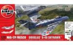 1-72-Mig-17F-Fresco-Douglas-A-4B-Skyhawk-Dogfight-Double-set-i-a-barvami