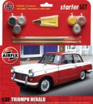 1-32-Triumph-Herald-Starter-Set-includes-Acrylic-paints-brushes-and-poly-cement