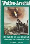RARE-Waffen-arsenal-no-138-SCHWERW-24-CM-KANONE