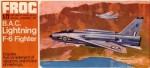 RARE-1-72-B-A-C-Lightning-F-6-Fighter-FROG