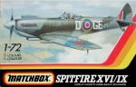 RARE-1-72-Spitfire-XVI-IX-Matchbox-ORIGINAL-ZABALENO