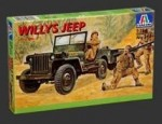 RARE-1-35-Willys-MB-Jeep-w-trailer