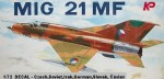 1-72-Mig-21MF-DECAL-CzechSovietIrakGermanSlovak-Caslav
