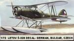 1-72-Letov-S-328-DECAL-German-Bulgar-Czech