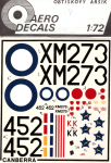 RARE-1-72-English-Electric-Canberra-DECAL