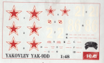RARE-1-48-YAK-9DD-YAKOVLEV-DECAL