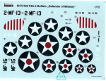 RARE-1-72-F2A-3BUFFALO-DEFENDER-OF-MIDWAY-DECAL