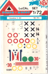 RARE-1-72-DEWOITINE-D-520-DECAL