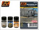 EARLY-PANZERS-WEATHERING-SET-3x35ml-pro-nemecka-vozidla-v-barve-panzer-grey-