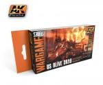 US-Olive-Drab-Set-6x17ml-akrylove-barvy-pro-USA-vozidla