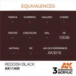 Reddish-Black