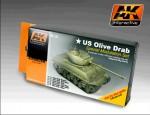 OLIVE-DRAB-Color-Set-6x17ml-akrylove-barvy-pro-US-vozidla-s-kamuflazi-Olive-Drab