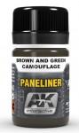PANELINER-FOR-BROWN-AND-GREEN-CAMOUFLAGE-35ml-pro-tvorbu-panelaze-v-hnede-nebo-zelene-kamuflazi