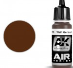 WWI-German-Red-Brown-17ml-akryl