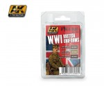 WWI-British-Uniforms-akrylove-barvy-pro-britske-uniformy-3x17ml
