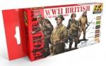 WWII-BRITISH-UNIFORM-COLORS-akryl-6x17ml