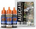AUSTRALIAN-CAMOUFLAGE-COLOURS-akrylove-barvy-3x17ml-pro-vozidla-australske-armady