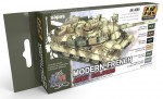 MODERN-FRENCH-ARMY-COLOURS-6x17ml-sada-akrylovych-barev-pro-vozidla-francouzske-armady