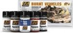 BURNT-VEHICLES-5x35ml-sada-pigmentu-pro-tvorbu-opaleneho-efektu-napr-na-vozidlech