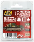 RUSSIAN-WWII-STANDARD-COLORS-COMBO-akrylic-3x17ml