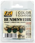 BUNDESWEHR-DESERT-CAMOUFLAGE-COLORS-COMBO-akrylic-3x17ml