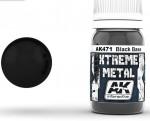 XTREME-METAL-BLACK-BASE-30ml-zakladova-kovova-cerna-barva-ENAMEL