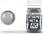 XTREME-METAL-ALUMINIUM-30ml-metalova-kovova-hlinikova-barva-ENAMEL