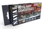 1-72-ROYAL-NAVY-CAMOUFLAGES-1-NAVAL-SERIES-SET-akryl-6x17ml