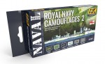 ROYAL-NAVY-CAMOUFLAGES-2-NAVAL-SERIES-SET-akryl-6x17ml