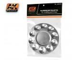 Aluminum-Pallet-10-wells-hlinikova-paleta-na-michani-barev-a-modelovacich-hmot