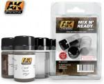 MIX-N-READY-4-EMPTY-JARS-WHITH-LABELS-4ks-prazdne-plastove-nahradni-lahvicky-+-nalepky-pro-oznaceni-obsahu