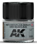 RAF-Camouflage-BARLEY-Grey-BS381C-626-10ml
