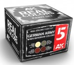 GERMAN-ARMY-WWII-INTERIOR-COLORS-SET-4x10ml-akryl