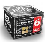GERMAN-ARMY-DARK-YELLOW-1943-1945-SET-4x10ml-akryl