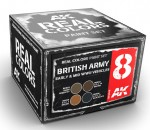 BRITISH-ARMY-EARLY-6-and-MID-WWII-VEHICLES-SET-4x10ml-akryl